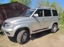 Подержанный УАЗ Patriot, серебряный , цена 850 000 руб. в Воронежской области, отличное состояние