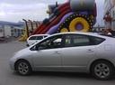 Подержанный Toyota Prius, серебряный металлик, цена 480 000 руб. в ао. Ханты-Мансийском Автономном округе - Югре, хорошее состояние