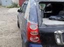 Подержанный Toyota Nadia, синий , цена 150 000 руб. в Иркутской области, битый состояние
