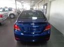 Подержанный Hyundai Solaris, синий, 2016 года выпуска, цена 681 500 руб. в Уфе, автосалон УФА МОТОРС
