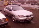 Подержанный Nissan Primera, серебряный , цена 100 000 руб. в Архангельске, среднее состояние