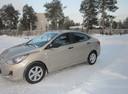 Подержанный Hyundai Solaris, бежевый , цена 450 000 руб. в ао. Ханты-Мансийском Автономном округе - Югре, отличное состояние