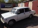 Подержанный ВАЗ (Lada) 2107, белый , цена 45 000 руб. в Ульяновске, среднее состояние