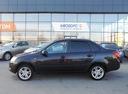 Подержанный ВАЗ (Lada) Granta, черный, 2013 года выпуска, цена 290 000 руб. в Ростове-на-Дону, автосалон