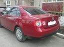 Подержанный Volkswagen Jetta, красный , цена 370 000 руб. в Тюмени, хорошее состояние