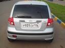 Подержанный Hyundai Getz, серебряный металлик, цена 350 000 руб. в республике Татарстане, отличное состояние