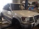 Подержанный Mitsubishi Pajero, белый , цена 450 000 руб. в Смоленской области, хорошее состояние