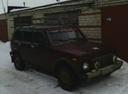 Подержанный ВАЗ (Lada) 4x4, вишневый , цена 146 000 руб. в республике Татарстане, среднее состояние