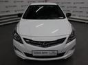 Подержанный Hyundai Solaris, белый, 2017 года выпуска, цена 524 000 руб. в Уфе, автосалон Браво Авто