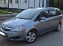 Подержанный Opel Zafira, серый металлик, цена 399 000 руб. в Ульяновской области, хорошее состояние