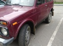 Подержанный ВАЗ (Lada) 4x4, бордовый , цена 150 000 руб. в ао. Ханты-Мансийском Автономном округе - Югре, хорошее состояние