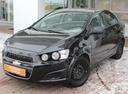 Подержанный Chevrolet Aveo, черный, 2013 года выпуска, цена 365 000 руб. в Екатеринбурге, автосалон