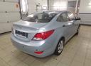 Подержанный Hyundai Solaris, серый, 2012 года выпуска, цена 415 000 руб. в Санкт-Петербурге, автосалон