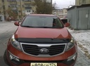 Подержанный Kia Sportage, оранжевый , цена 800 000 руб. в Челябинской области, отличное состояние