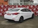 Подержанный Hyundai Elantra, белый, 2015 года выпуска, цена 770 000 руб. в Санкт-Петербурге, автосалон Приморский Центр Автокредитования