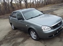 Подержанный ВАЗ (Lada) Priora, зеленый металлик, цена 200 000 руб. в Челябинской области, хорошее состояние