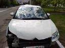 Подержанный Citroen C4, белый , цена 240 000 руб. в Ульяновской области, битый состояние