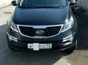 Подержанный Kia Sportage, черный перламутр, цена 780 000 руб. в Ульяновске, отличное состояние
