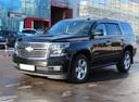 Подержанный Chevrolet Tahoe, черный металлик, цена 2 800 000 руб. в Санкт-Петербурге, отличное состояние