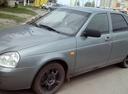 Подержанный ВАЗ (Lada) Priora, серый , цена 230 000 руб. в Ульяновске, хорошее состояние