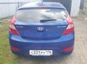 Подержанный Hyundai Solaris, синий металлик, цена 450 000 руб. в республике Татарстане, хорошее состояние