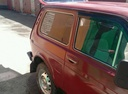 Подержанный ВАЗ (Lada) 4x4, красный матовый, цена 135 000 руб. в Пензенской области, отличное состояние