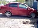 Подержанный Chevrolet Aveo, красный , цена 300 000 руб. в Тюмени, хорошее состояние