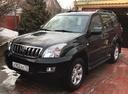 Подержанный Toyota Land Cruiser Prado, черный , цена 1 680 000 руб. в Ульяновске, отличное состояние