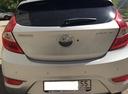 Подержанный Hyundai Solaris, серебряный металлик, цена 415 000 руб. в Омске, отличное состояние