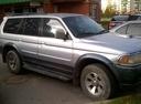 Подержанный Mitsubishi Pajero Sport, серебряный , цена 530 000 руб. в Пскове, среднее состояние