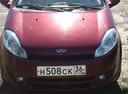 Подержанный Chery Kimo, бордовый , цена 160 000 руб. в Воронежской области, хорошее состояние