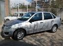 Подержанный ВАЗ (Lada) Granta, серый, 2017 года выпуска, цена 389 900 руб. в Крыму, автосалон БЭСКИД