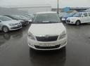 Подержанный Skoda Fabia, белый, 2013 года выпуска, цена 498 000 руб. в Воронеже, автосалон