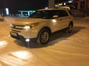 Подержанный Ford Explorer, белый перламутр, цена 1 500 000 руб. в ао. Ханты-Мансийском Автономном округе - Югре, хорошее состояние