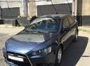 Подержанный Mitsubishi Lancer, синий, 2011 года выпуска, цена 415 000 руб. в Самаре, автосалон Авто-Брокер на Антонова-Овсеенко