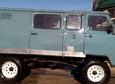 Подержанный УАЗ 3909, голубой матовый, цена 150 000 руб. в ао. Ханты-Мансийском Автономном округе - Югре, хорошее состояние