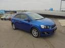 Подержанный Chevrolet Aveo, синий, 2013 года выпуска, цена 480 000 руб. в Воронеже, автосалон