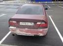 Подержанный Mitsubishi Lancer, бордовый матовый, цена 138 000 руб. в Екатеринбурге, хорошее состояние