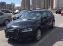 Подержанный Audi A3, черный , цена 470 000 руб. в Санкт-Петербурге, хорошее состояние