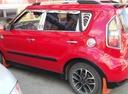 Подержанный Kia Soul, красный , цена 550 000 руб. в Тюмени, хорошее состояние