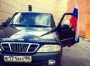 Подержанный SsangYong Musso, черный , цена 280 000 руб. в ао. Ханты-Мансийском Автономном округе - Югре, хорошее состояние