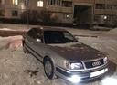 Подержанный Audi 100, серебряный металлик, цена 95 000 руб. в Ульяновске, плохое состояние