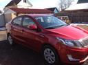 Подержанный Kia Rio, красный , цена 550 000 руб. в Смоленской области, отличное состояние