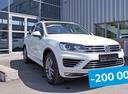 Новый Volkswagen Touareg, белый , 2017 года выпуска, цена 3 142 000 руб. в автосалоне