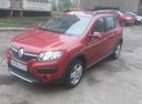 Подержанный Renault Sandero, красный , цена 550 000 руб. в Челябинской области, отличное состояние