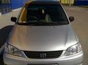 Подержанный Toyota Corolla Spacio, серебряный металлик, цена 240 000 руб. в Тюмени, хорошее состояние