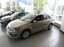 Подержанный Volkswagen Polo, бежевый, 2016 года выпуска, цена 609 000 руб. в Ростове-на-Дону, автосалон
