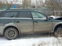 Подержанный Subaru Outback, зеленый , цена 230 000 руб. в ао. Ханты-Мансийском Автономном округе - Югре, битый состояние