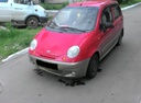 Подержанный Daewoo Matiz, красный , цена 85 000 руб. в Ульяновской области, среднее состояние