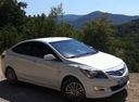Подержанный Hyundai Solaris, белый , цена 530 000 руб. в ао. Ханты-Мансийском Автономном округе - Югре, отличное состояние